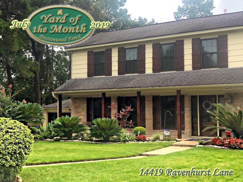 July 2019 Yard of the Month Winner
