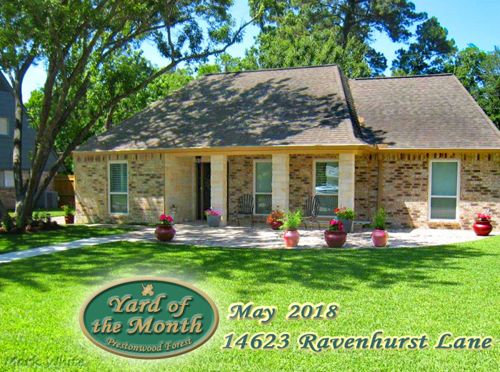 May 2018 Yard of the Month Winner
