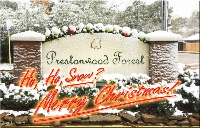 December 2017 Snowfall