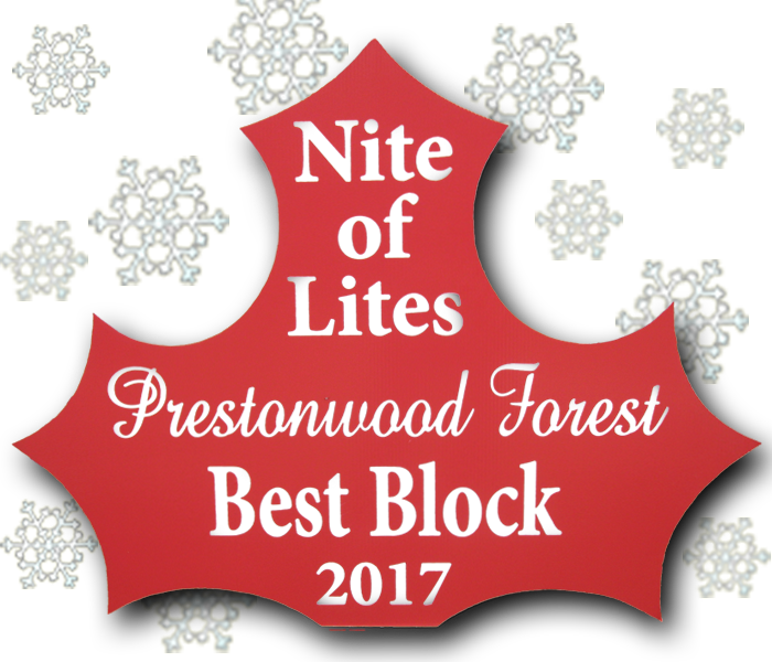 Click for Nite of Lites Winners Map