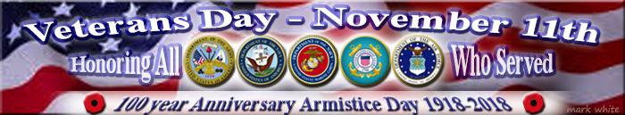 100 Year Anniversary - Veterans Day