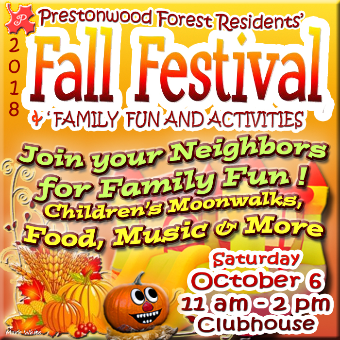 Prestonwood Forest Fall Festival