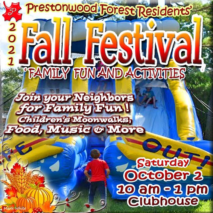 Prestonwood Forest Fall Festival