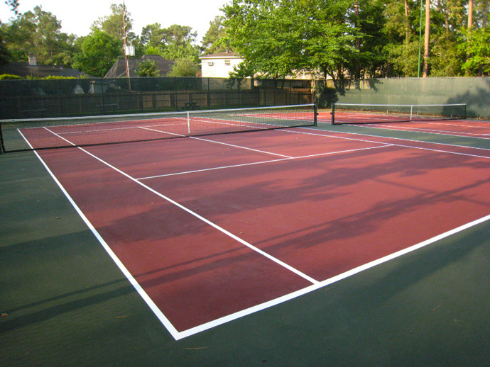 Back Tennis Courts