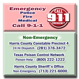 More Emergency Info